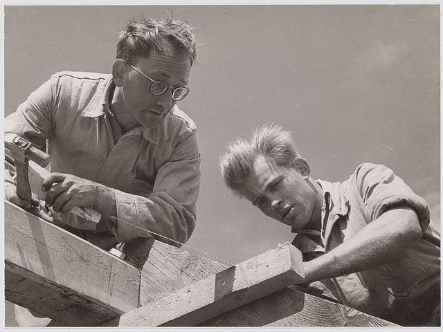Gerrit de Graaf en Nico Maas